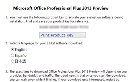 microsoft office professional plus 2013 download